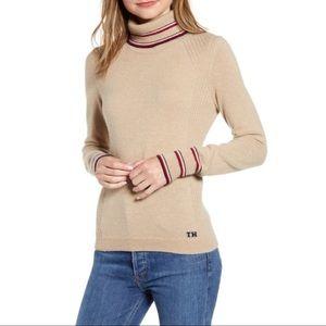 NWT Tommy Hilfiger Stripe Turtle Neck Sweater XXS